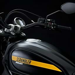 Bild von Ducati - Tank Side Panels, Anodized Black