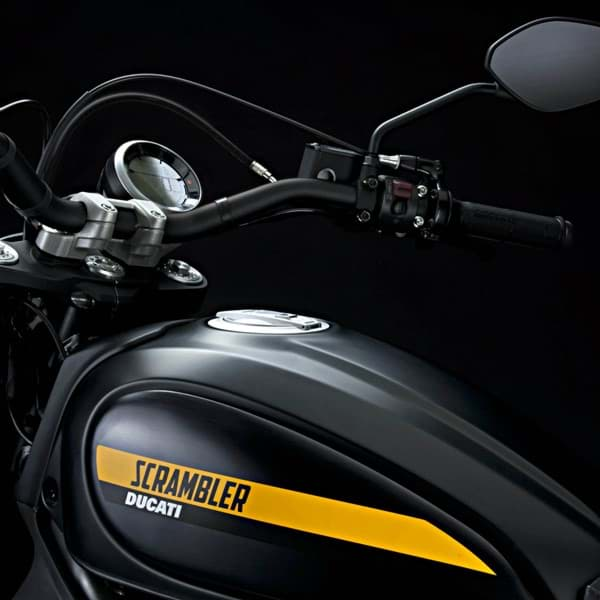 Picture of Ducati - Tank Side Panels, Anodized Black