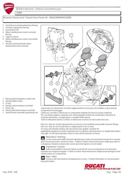 Picture of Ducati Kit power Ducati Corse (PDF)