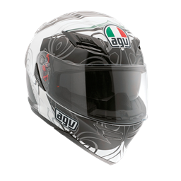 Picture of AGV GT Horizon Absolute White/Gunmetal
