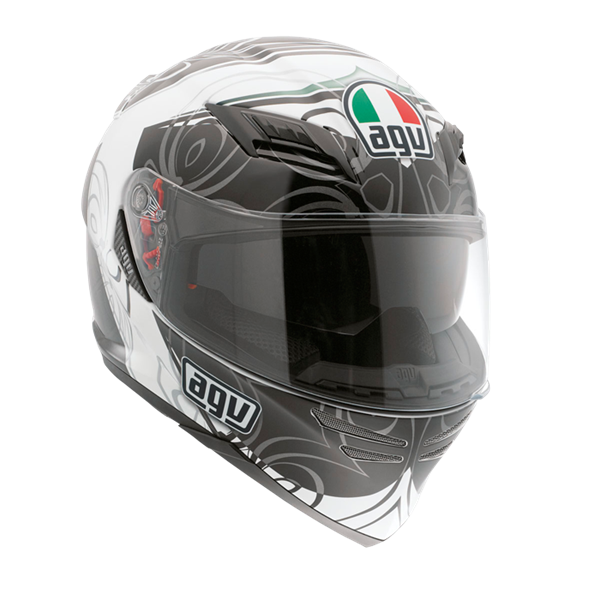 Bild von AGV GT Horizon Absolute White/Gunmetal