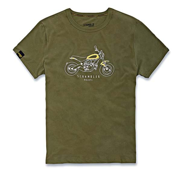 Picture of Ducati - T-Shirt Heritage