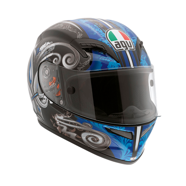 Picture of AGV Race Grid Stigma Black/Blue