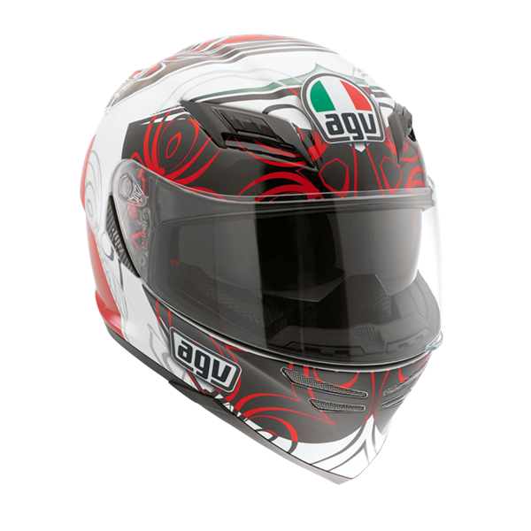 Bild von AGV GT Horizon Absolute White/Red
