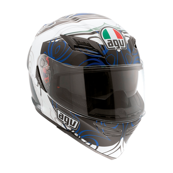Bild von AGV GT Horizon Absolute White/Blue