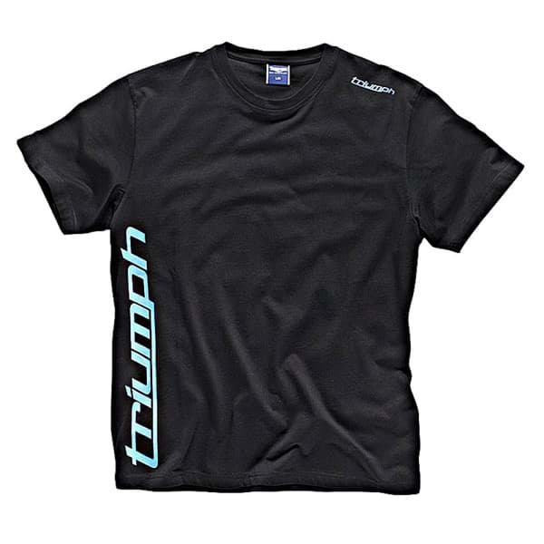 Picture of Triumph - Sports Script T-Shirt (Schwarz)