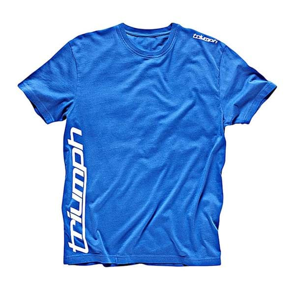 Picture of Triumph - Sports Script T-Shirt (Blau)