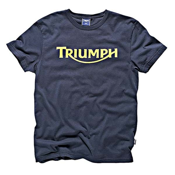 Picture of Triumph - Logo T-Shirt (Mittelblau)