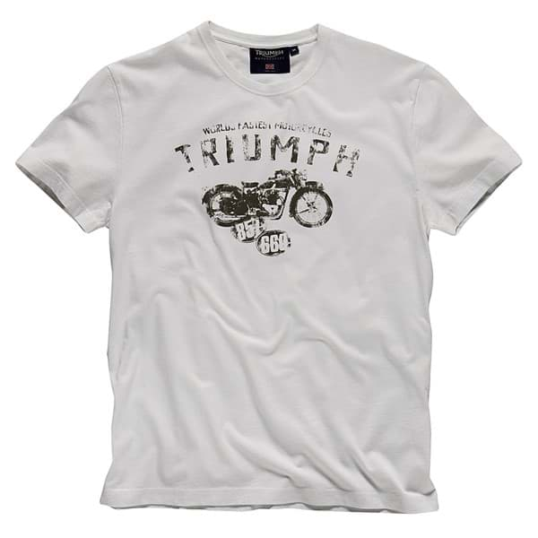 Picture of Triumph - Herren World's Fastest Motorcycle T-Shirt