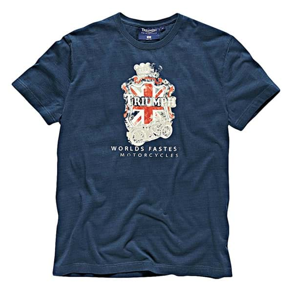 Picture of Triumph - Herren World's Fastest GB T-Shirt
