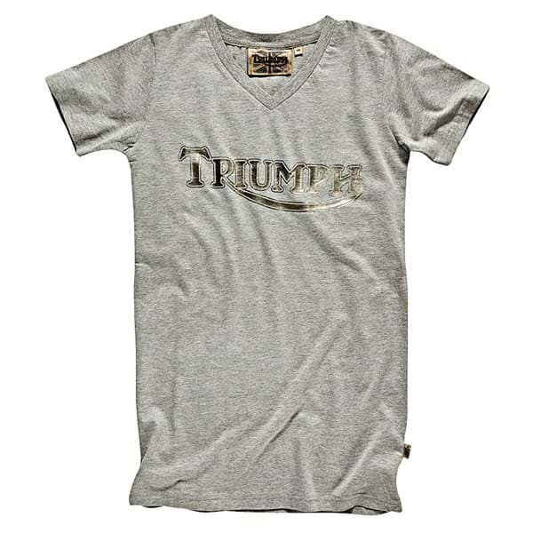 Picture of Triumph - Herren Metal Look Vintage T-Shirt