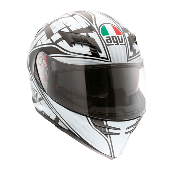 Picture of AGV GT Horizon Scrape Black/Silver