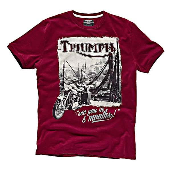 Picture of Triumph - Herren Back in 6 Months T-Shirt