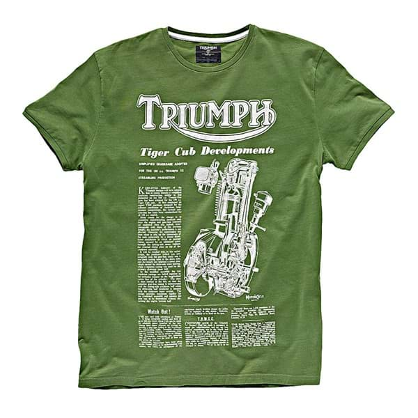Picture of Triumph - Herren Engine T-Shirt