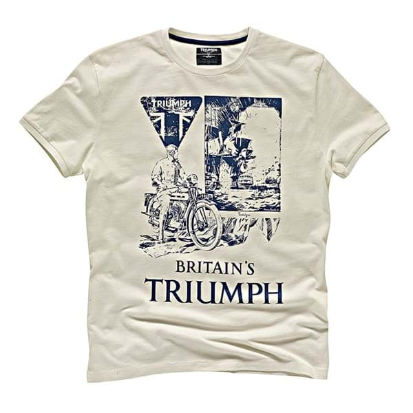 Picture of Triumph - Herren  Newspaper T-Shirt