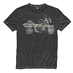 Picture of Triumph - Herren  Speed Triple T-Shirt