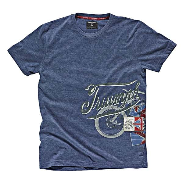 Picture of Triumph - Herren Denim T-Shirt mit Aufdruck