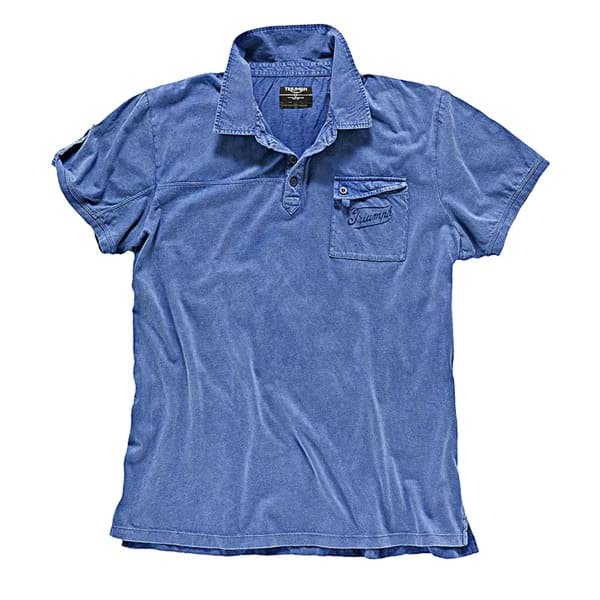 Picture of Triumph - Herren Denim Polo