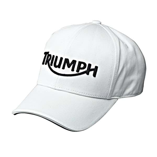 Picture of Triumph Logo Cap - White