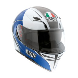 Picture of AGV GT Skyline Block White/Blue
