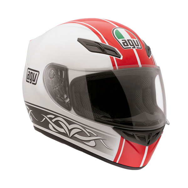 Bild von AGV Street Road K-4 EVO Roadster White/Red