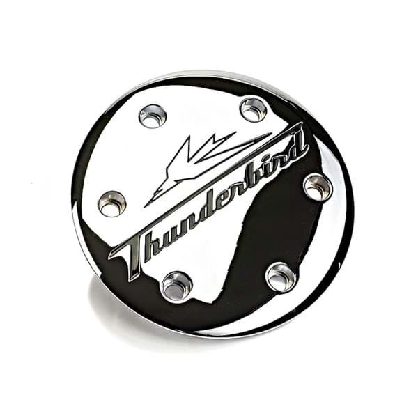 Picture of Triumph - Clutch Cover Embellisher Chrome - Thunderbird