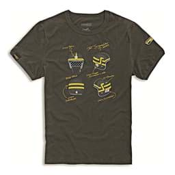 Picture of Ducati - T-Shirt Short Trackers
