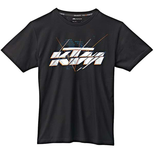 Picture of KTM - Herren T-Shirt Sliced Logo Tee