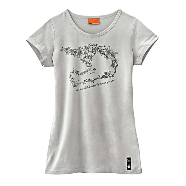 Picture of KTM - Girls Floral Helmet Tee