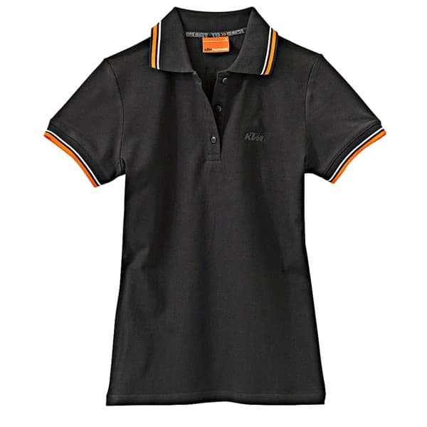 Picture of KTM - Girls Polo Black