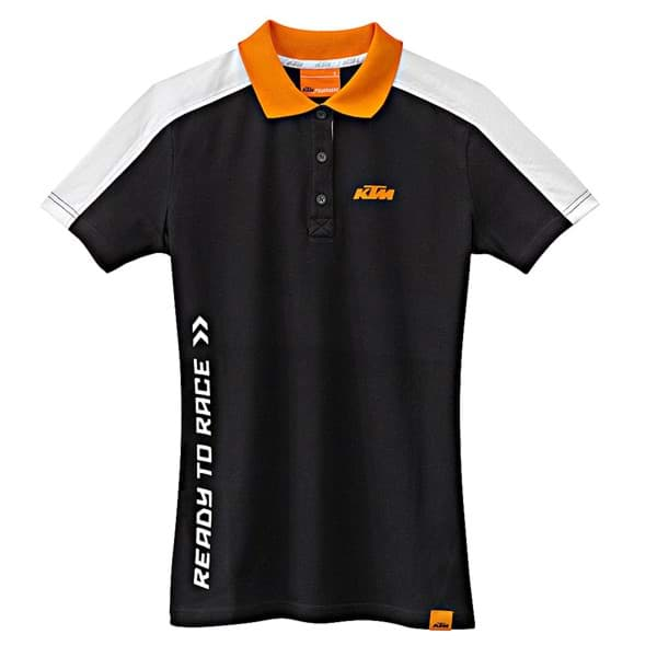 Picture of KTM - Girls Corporate Polo Black