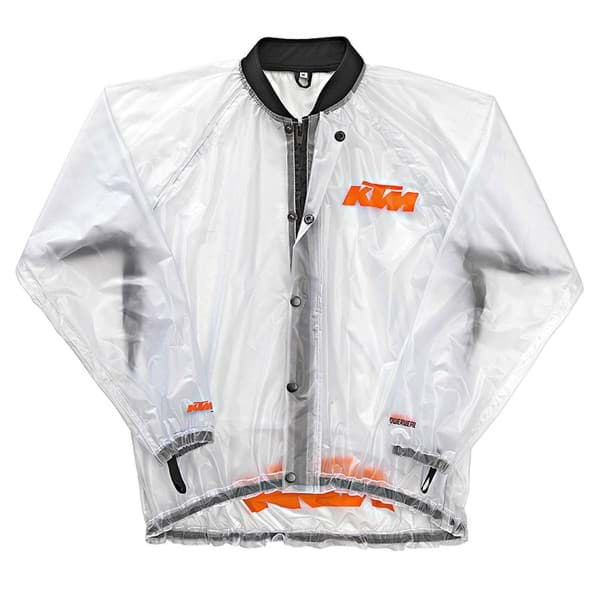 Picture of KTM - Rain Jacket Transparent 14
