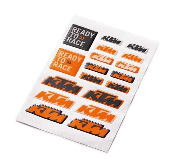Picture of KTM - 3D Sticker Sheet