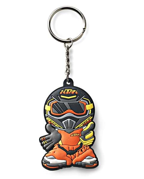 Picture of KTM - MX Rider Rubber Keyholder