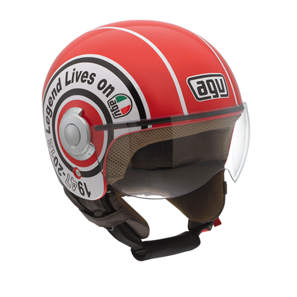 Bild von AGV City Bali Copter Legend Red