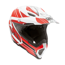 Bild von AGV Off-Road AX-8 Evo Flagstars White/Red