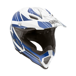 Picture of AGV Off-Road AX-8 Evo Flagstars White/Blue