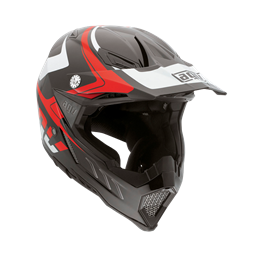 Bild von AGV Off-Road AX-8 Evo Klassik Black/White/Red