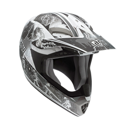 Bild von AGV Off-Road MT-X Evolution White/Silver