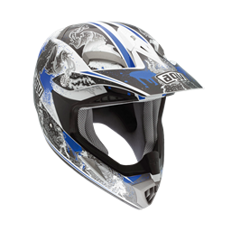 Bild von AGV Off-Road MT-X Evolution White/Blue