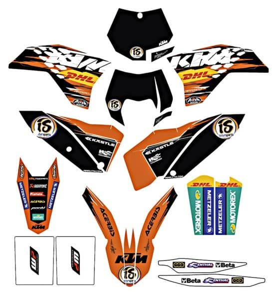 Picture of KTM - Factory Grafik Kit