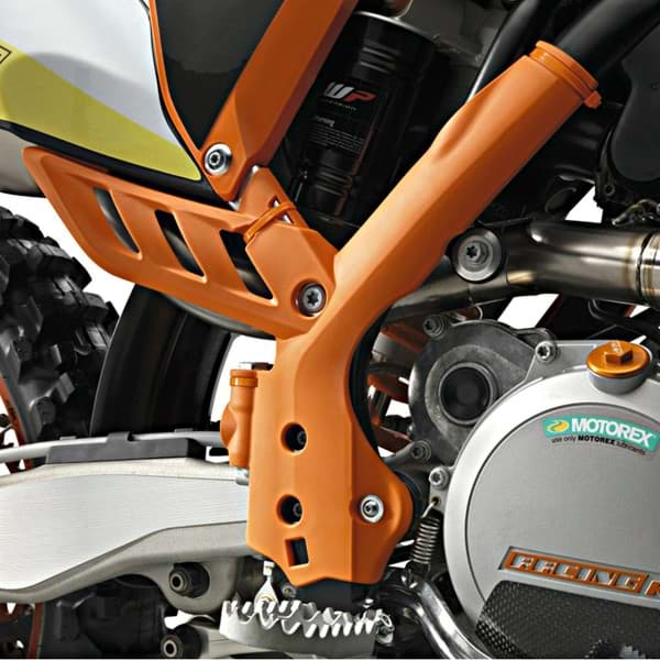 "Picture of KTM - Rahmenschutz Set Orange SX ""07-""10, EXC ""08-""11"