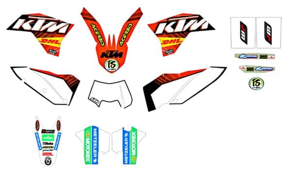 Picture of KTM - Factory Grafik-Kit