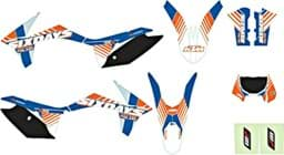 "Bild von KTM - Six Days Grafik Kit 'Finnland' EXC ""12-""13"