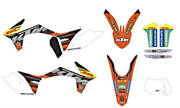 Picture of KTM - Factory Enduro Grafik Kit