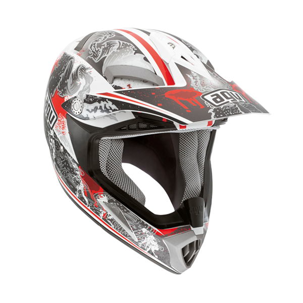 Bild von AGV Off-Road MT-X Junior Evolution White/Red