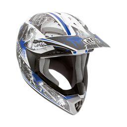Bild von AGV Off-Road MT-X Junior Evolution White/Blue