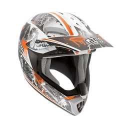 Bild von AGV Off-Road MT-X Junior Evolution White/Orange