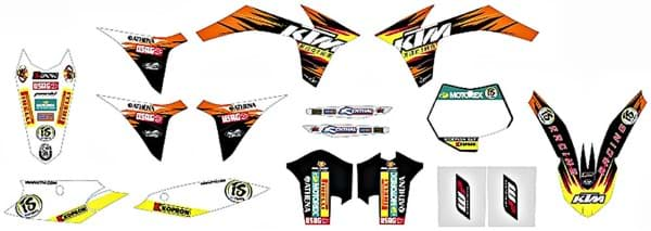 Picture of KTM - Factory Graphic Kit