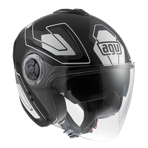 Bild von AGV City Fiberlight Future Black/Grey/White
